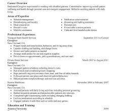 Caregiver For Elderly Resume Fancy Resume For Caregiver 15 Elderly Caregiver Resume Sample