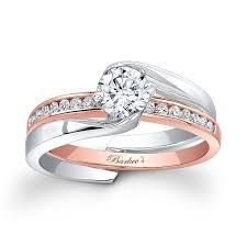 interlocking engagement ring wedding band wedding rings interlocking wedding rings stunning bridal set