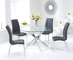 Dining Table Chairs Set Dining Table Round Glass Dining Table 4 Chairs Sets Room And Top