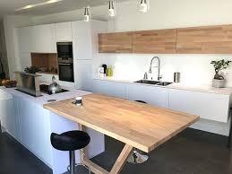 plan de table cuisine table cuisine bois brut photo cuisine detroit niocad info