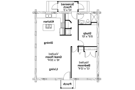 single story log home floor plans