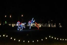hopeland gardens christmas lights this was actually at the pickup point for the shuttle at citizen s