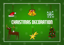 Free Christmas Decorations Free Christmas Decorations Vector Download Free Vector Art