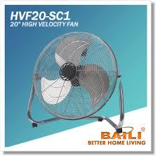 20 inch industrial fan baili sale industrial fan 20 inch high veloctiy fan manufacturer