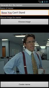 Generate Memes - com gatm meme generator appstore for android