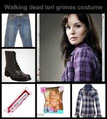 Carl Grimes Halloween Costume Lori Grimes Walking Dead