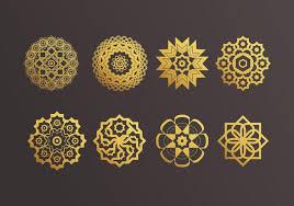 islamic ornaments vector free vector stock
