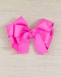 large hair bows hot pink large hair bow smockingbird