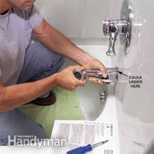 How To Install A Bathtub Spout How To Install A Bathtub Install An Acrylic Tub And Tub Surround