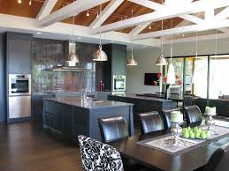 Track Lighting Dining Room by Wire Track Lighting Kitchen Rustic With Wood Beams Handle Faucets