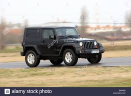 jeep black rubicon jeep wrangler rubicon 3 8 model year 2008 black driving