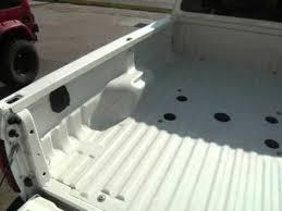 white truck bed liner line x pearl bedliner wmv youtube
