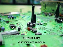 ppt templates for electrical engineering circuit city powerpoint template