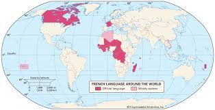 List Of French Speaking Countries In The World - french language origin history grammar u0026 speakers
