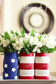 4th of july mason jars patriotic mason jar craft u0026 food ideas