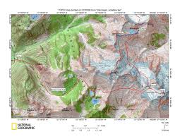 Cascade Mountains Map Ptarmigan Traverse U002709 S N Www Stephabegg Com