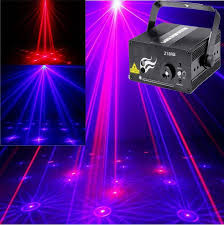 new upgrade laser blue mini laser led projector stage holographic