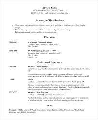 exle of chronological resume chronological resume exle