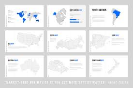 United States Map Powerpoint Template by Grids Minimal Powerpoint Template By Dublin Design