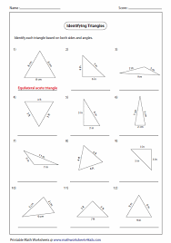 triangle worksheets free worksheets library download and print