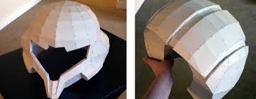 helmet design game cosplayer uses 3d printing to create realistic varia suit from