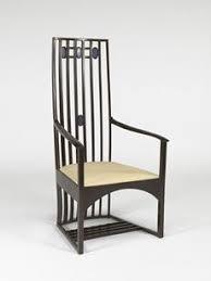 Chair Designer Charles 1904 By Charles Rennie Mackintosh 1868 1928 For The Hill House