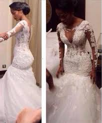 lace mermaid wedding dress 2016 south africa sleeves lace mermaid wedding dresses