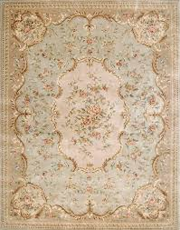 stunning soft colors in this 18th century french rug i love