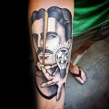 tattoo ideas for engineers 60 nikola tesla tattoo designs for men electrical engineer ideas