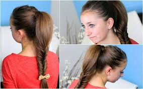 Images Of Girls Hairstyle by How To Make A Fluffy Fishtail Braid Zendaya U0027s Replay