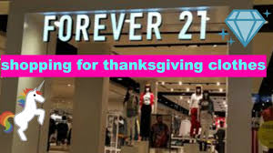 forever 21 shopping for my thanksgiving clothes