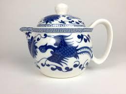 teapot set blue teapot set
