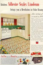 Retro Linoleum Floor Patterns by 9 Best Vintage Linoleum Images On Pinterest Vintage Kitchen