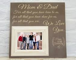 50th wedding anniversary gift ideas for parents 50th anniversary gifts etsy