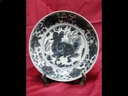Ming Dynasty Vase Value 2 Antique Chinese Ming Dynasty Porcelain Plate Jiajing Mark Avi