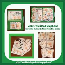 bible fun for kids jesus the good shepherd ffg u0026 more for preschool
