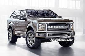 Ford Ranger Design Official Ford Ranger Bronco Coming Back Automobile Magazine