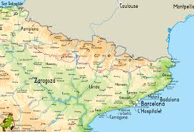 Burgos Spain Map by