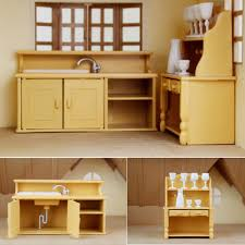 dolls house kitchen living room bedroom miniature sofa furniture