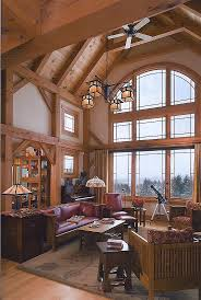 Craftsman Home Interior Design 344 Best Timberframe Interiors Images On Pinterest Architecture