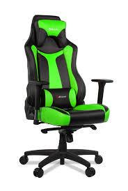 Gaming Chair Leather Vernazza U2013 Green Arozzi