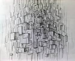 sketch abstract city by yelloty on deviantart