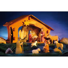 wooden nativity set ostheimer wooden nativity figures boxed set style ii