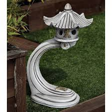 curved japanese pagoda garden ornaments
