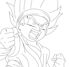 goku coloring pages coloring