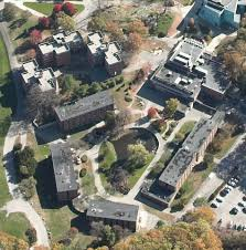 Brandeis Map Middle Campus Dorms Region