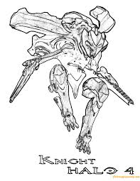 knight halo 4 coloring page free coloring pages online