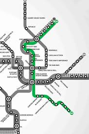 the metro map washington dc s map of bars near the metro thrillist