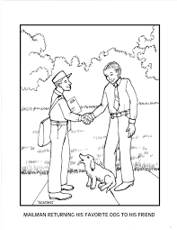 mailman coloring pages the scariest part is everyday