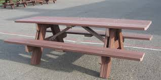 8 foot picnic table plans eight foot 2 trex picnic table
